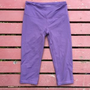 Victoria's Secret Sport Purple Athletic Capri SM